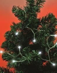 Home 30 LED-es mini fényfüzér - hidegfehér (MLC 30/WH)