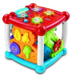VTech Cubul Magic - Jucarie interactiva pentru bebelusi (VT150512)