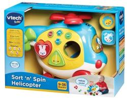 VTech Elicopter interactiv pentru bebelusi (VT151003)