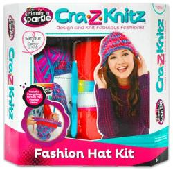 CRA-Z-ART Cra-Z-Knitz trendi csajszi sapi design (17119)