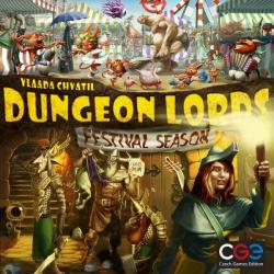 Czech Games Edition Dungeon Lords: Festival Season kiegészítő