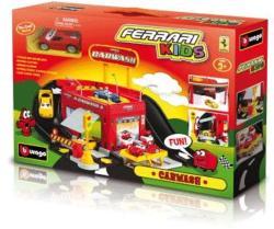 Bburago Set de joaca - Spalatorie auto Ferrari (31281f)