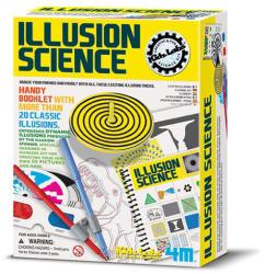 4M Kidz Labs- Illusion Science - Illúziós tudományos szett