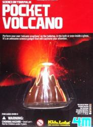 4M Kidz Labs - Vulkánkészítő tudományos kísérlet (Pocket Volcano)