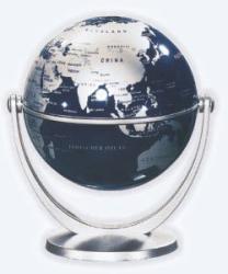 Stellanova Csodagömb  - ezüst gömb, ezüst talp - 10 cm