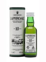 LAPHROAIG 10 Years Whiskey 0,05L 40%