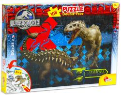 Lisciani Jurassic World 108 db-os színezhető puzzle (48632)