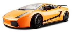 Maisto 2007 Lamborghini Gallardo Superleggera 1:18 autómodell