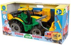 LENA Óriás markolós traktor dobozban (02080)