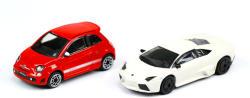 Bburago Abarth 500 és Lamborghini Reventón 1:43