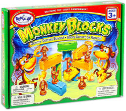 Popular Playthings Monkey Blocks