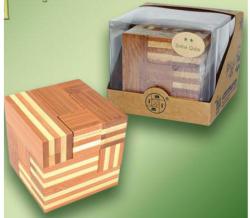 Fakopáncs Logikai soma kocka - nagy, bambusz