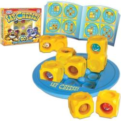 Popular Playthings Say Cheese
