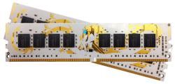 GeIL White Dragon 8GB (2x4Gb) DDR4 2400MHz GWB48GB2400C14DC