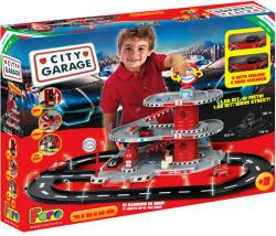 Faro Toys City Garage - Háromszintes parkolóház autókkal - Esso