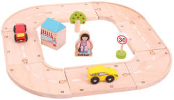Bigjigs Toys Első autópályám szett