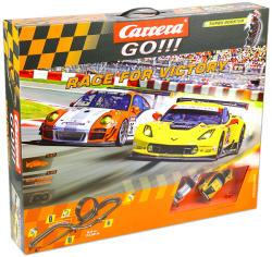 Carrera GO!!! Race for Victory távirányítós versenypálya