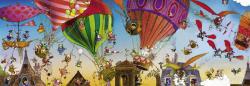 Heye Panoráma Puzzle - Loup: Ballooning 1000 db-os (29756)