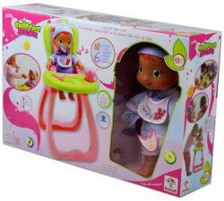 Baobab Toys Smoothie Babies - Ringass el baba - Poci (Hungry) etetőszékkel - 32 cm