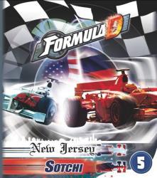 Asmodee Formula D - New Jersey és Szocsi kiegészítő
