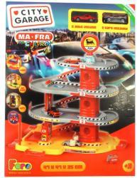 Faro Toys Négyszintes parkolóház két autóval - Agip