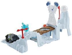 Mattel Matchbox Yeti Avalanche pályaszett kisautóval