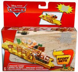 Mattel Verdák pályarendszer kisautó kilövő - Traktor fordító