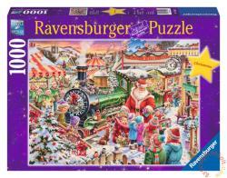 Ravensburger Karácsonyi vonat 1000 db-os (19420)