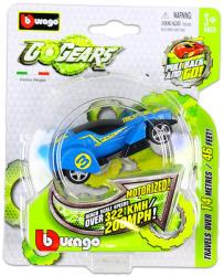 Bburago Go Gears hátrahúzós kisautók - kék versenyautó