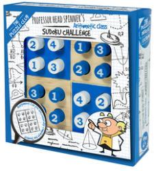 Professor Puzzle Head Spinner's Sudoku Challenge