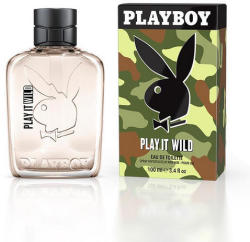 Playboy Play it Wild for Men EDT 100ml
