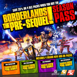 2K Games Borderlands The Pre-Sequel Season Pass (PC)