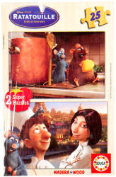 Educa Disney Lecsó fa puzzle 2x25 db-os (13625)