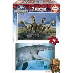Educa Jurassic World 2x48 db-os (16339)