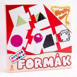 EX-IMP Játssz és tanulj! társasjáték - Formák (EX16786)