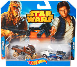 Mattel Hot Wheels - Star Wars kisautók - Chewbacca és Han Solo