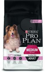 PRO PLAN OptiDerma Adult Medium Sensitive Skin 7 kg