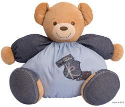 Kaloo Blue Denim Maxi Chubby Bear - Puha maci 50cm