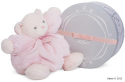 Kaloo Perle Chubby Bear - Puha maci csörgővel, luxus ajándékcsomagolásban 30cm