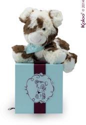 Kaloo Les Amis Vache - Milky, a puha boci ajándékdobozban 19cm