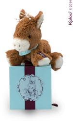 Kaloo Les Amis Cheval - Mocha, a puha lovacska ajándékdobozban 19cm