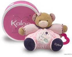 Kaloo Petite Rose Chubby Bear - Puha maci rágókával, ajándékdobozban 25cm