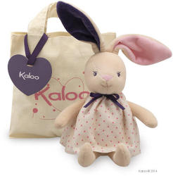 Kaloo Petite Rose Rabbit Doll - Puha nyuszi szoknyában, ajándékdobozban 28cm
