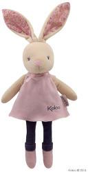 Kaloo Petite Rose Musical Doll - Puha nyuszi szoknyában, ajándékdobozban 30cm