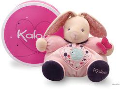 Kaloo Petite Rose Chubby Rabbit - Puha nyuszi csörgővel, ajándékdobozban 30cm