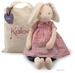 Kaloo Petite Rose Maxi Rabbit Doll - Puha nyuszi szoknyában, ajándékdobozban 55cm