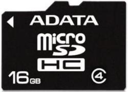 ADATA MicroSDHC 16GB Class 4 AUSDH16GCL4-R