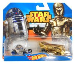 Mattel Hot Wheels - Star Wars kisautók - R2-D2 és C-3PO