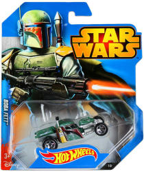 Mattel Hot Wheels - Star Wars kisautók - Boba Fett