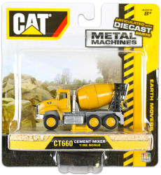 Toy State CAT: Fém munkagépek - CT660 beton mixer 1:92
